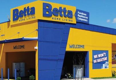 Betta Home Living takes out fifth customer satisfaction award and overtakes JB Hi-Fi in race for annual prize