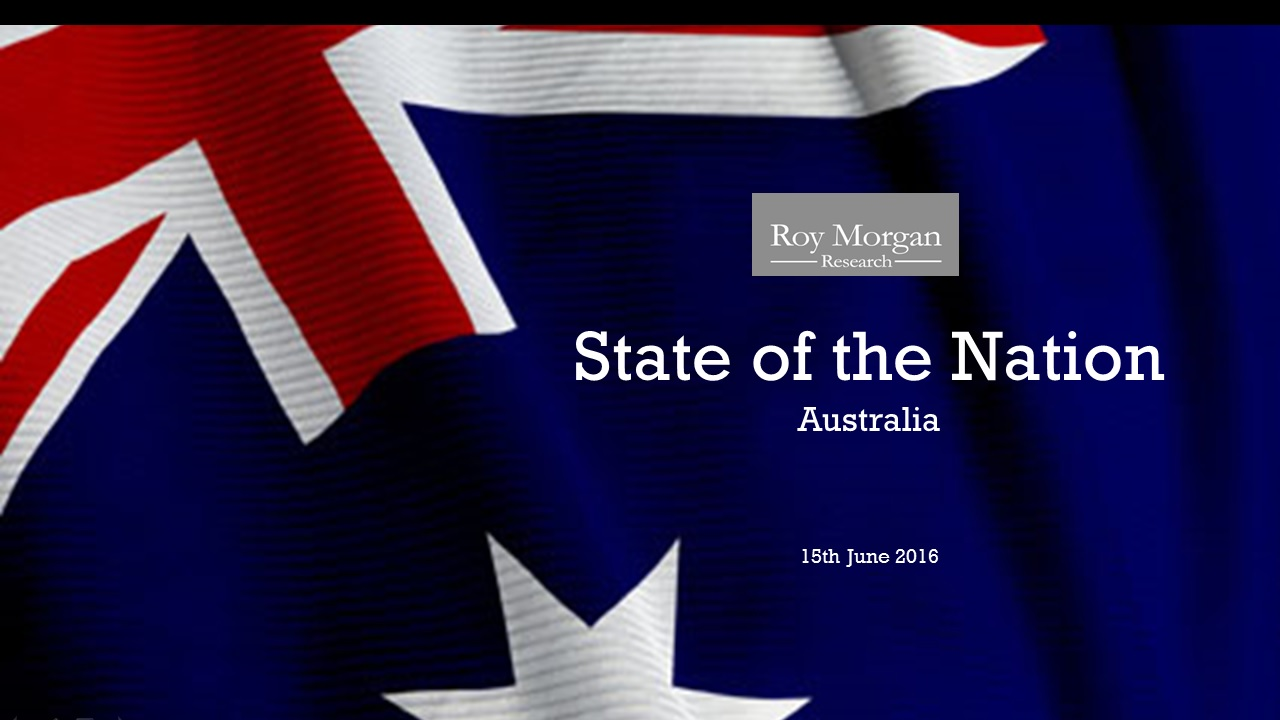 Roy Morgan State of the Nation - Focus on Politics: The 2016 Federal Election