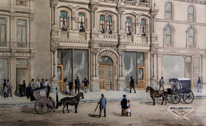 Roy Morgan Research Centre Collection: Paintings of Early Melbourne