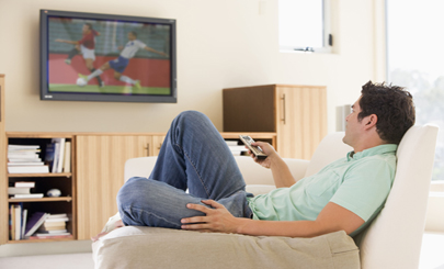 TV-soccer-viewer