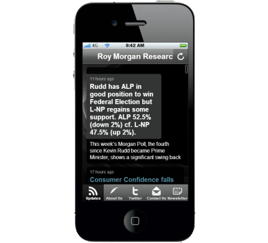 Roy Morgan Research App